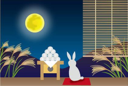 お月見 2018中秋の名月はいつ?由来や十三夜、十日夜の意味とは?